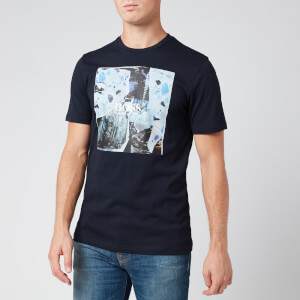BOSS Men's Tomio 5 T-Shirt - Dark Blue