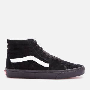 Vans Men's Suede Sk8 Hi-Top Trainers - Black/Black