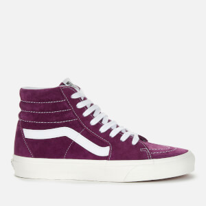 Vans Women's Suede Sk8 Hi-Top Trainers - Grape Juice/Snow White