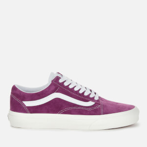 Vans Women's Suede Old Skool Trainers - Grape Juice/Snow White