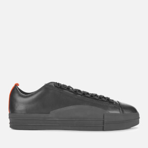 Y-3 Men's Yuben Low Trainers - Black/Orange