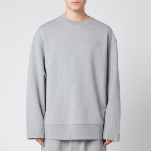 Y-3 Men's Classic Chest Logo Crew Sweatshirt - Grey