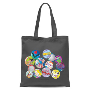 Nickelodeon Nostalgia Tote Bag - Grey