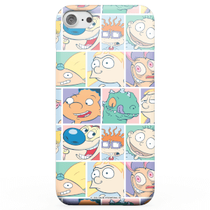 Nickelodeon Cartoon Grid Phone Case for iPhone and Android