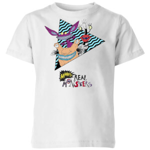 AAAHH Real Monsters Kids' T-Shirt - White