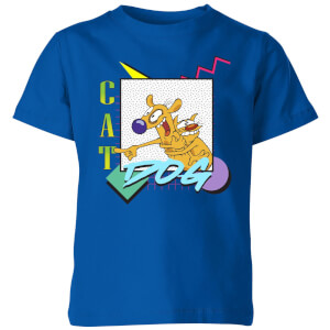 CatDog 90s Style Kids' T-Shirt - Royal Blue