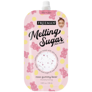 Freeman Beauty Melting Sugar Face Mask - Rose Gummy Bear