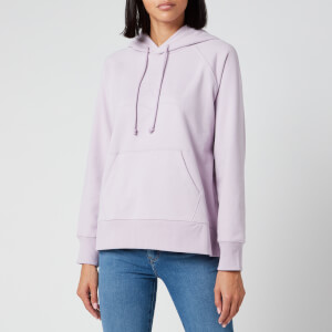 Levi's Women's Logo Graphic Sport Hoodie - Heather Lavender Frost Garment Dye Heat