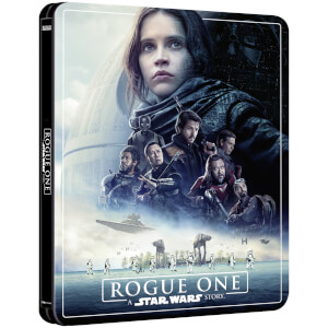 Rogue One: A Star Wars Story – Zavvi Exclusive 4K Ultra HD Steelbook (3 Disc Edition includes Blu-ray)