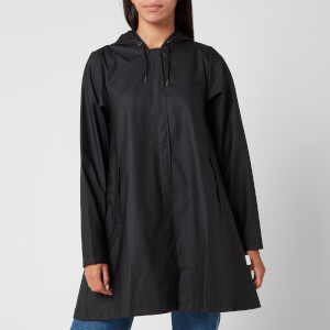 RAINS Women's A-line Jacket - Black