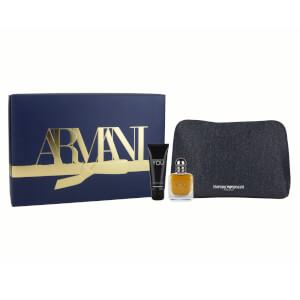 Armani Stronger with YOU 50ml Christmas Gift Set (Worth £70.00)