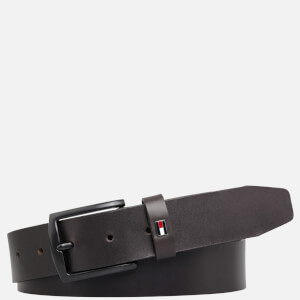 Tommy Hilfiger Men's Denton Leather Belt - Testa di Moro