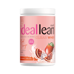IdealFit Clear Whey Protein - Blood Orange - 20 Servings