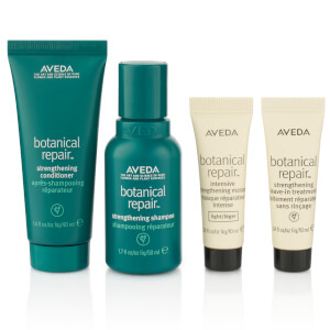 Aveda Strengthen Hair and Help Repair Damage Botanical Repair Vegan Hair Care Set