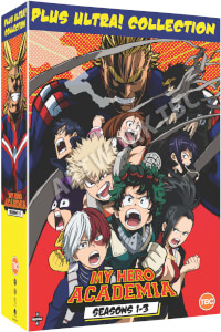 My Hero Academia: Collection Box Seasons 1-3