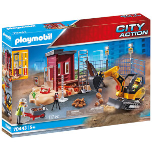 Playmobil City Action Small Excavator (70443)