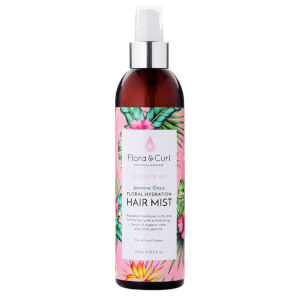 Flora & Curl Jasmine Oasis Hydrating Hair Mist 250ml
