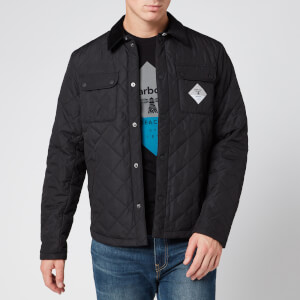 Barbour Beacon Men's Aken Quilt Jacket - Black