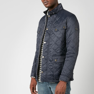 Barbour International Men's Ariel Profile Quilt Jacket - Navy