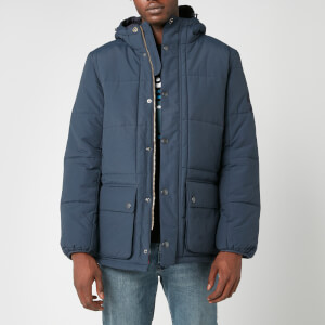 Barbour International Men's Goshen Quilt Jacket - Navy