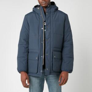 Barbour International Men's Goshen Quilt Jacket - Navy
