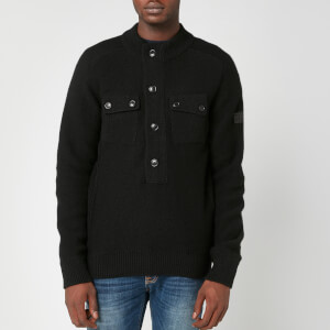 Barbour International Men's Calibrate Half Zip Sweatshirt - Black
