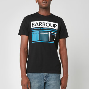 Barbour International Men's Squares T-Shirt - Black
