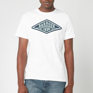 Barbour International Men's Compressor T-Shirt - White