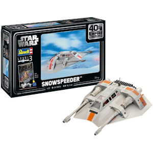 Revell Gift Set - Snowspeeder (The Empire Strikes Back 40th Anniversary) Model (Scale 1:29)