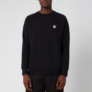 Maison Kitsuné Men's Fox Head Patch Sweatshirt - Black