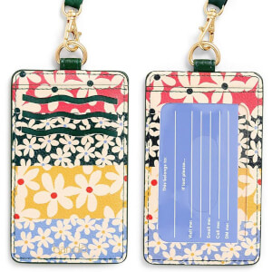 Ban.do Keep It Close Lanyard Card Case - Daisies