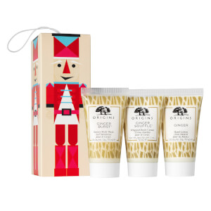 Origins Tiny Ginger Treasures Our Favorite Ginger Bath and Body Musts Set (Worth £10.50)