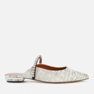 Kurt Geiger London Women's Princely 2 Leather Flat Mules - Black/White