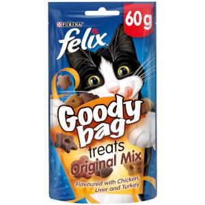 Felix Goody Bag Cat Treats - Original Mix - 60g