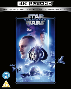 Star Wars - Episode I - The Phantom Menace - 4K Ultra HD (Includes 2D Blu-ray)