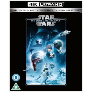 Star Wars - Episode V - The Empire Strikes Back - 4K Ultra HD (Includes 2D Blu-ray)