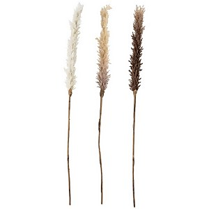 Bloomingville Faux Dried Flower - Set of 3 - Askild