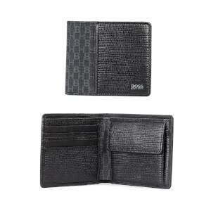 BOSS Men's Metropole Wallet with Coin Purse - Black