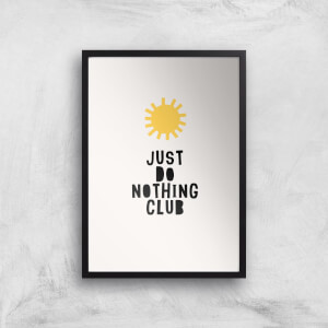 Kubistika Do Nothing Cub Giclee Art Print