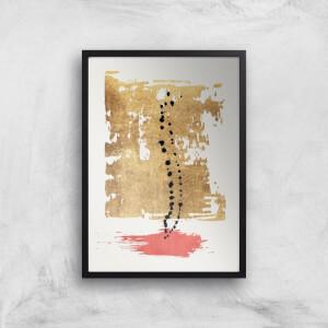 Kubistika Drip Drop Giclee Art Print