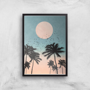 Kubistika Sun Rise Giclee Art Print