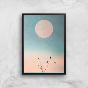 Kubistika Waking Up Warm Giclee Art Print