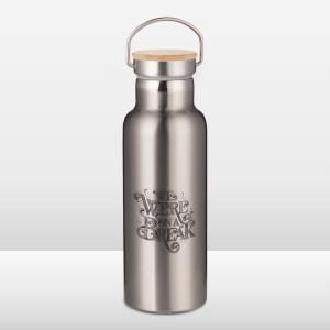 Friends We Were On A Break Sketch Portable Insulated Water Bottle - Steel