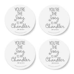 Friends The Joey To My Chandler Coaster Set