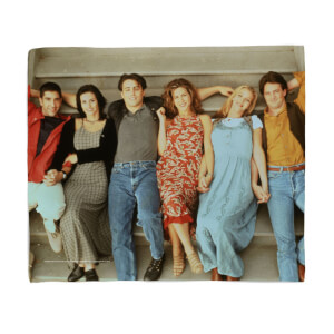 Friends Group Shot Fleece Blanket