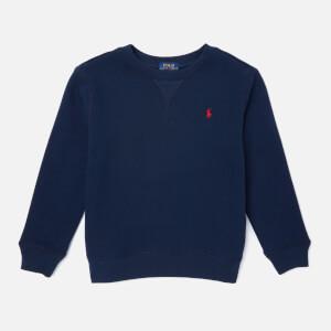 Polo Ralph Lauren Boys' Crew Neck Sweatshirt - Navy
