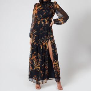 Hope & Ivy Women's The Ephie Maxi Dress - Multi