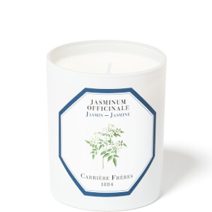 Carrière Frères Scented Candle Jasmine - Jasminum Officinale - 185 g