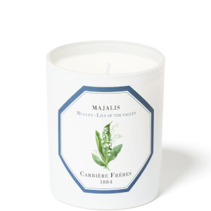 Carrière Frères Scented Candle Lily of the Valley - Majalis - 185 g