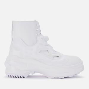 Maison Margiela X Reebok Men's Pump Tabi Boots - White/White Mat/White